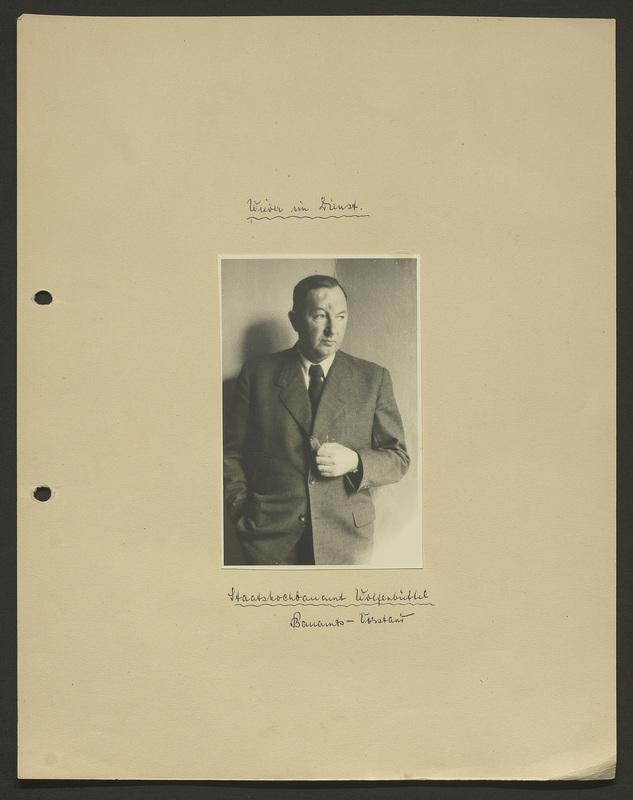Portrait Kurt Seeligers um 1950. Diese Fotografie stammt nicht aus Seeligers Fotokonvolut zum deutschen Überfall auf Polen, sondern wurde der Gedenkstätte von seinem Enkel überlassen., recto