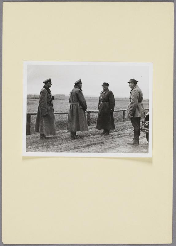 Die Kapitulation des polnischen Generals Franciszek Kleeberg, recto