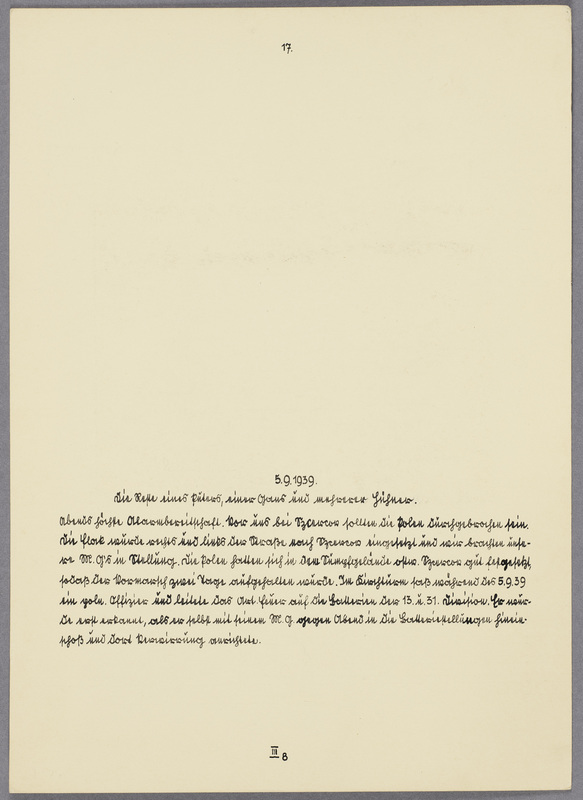 Kurt Seeliger (h. l.) und sechs Wehrmachtssoldaten beim Essen im Freien, verso