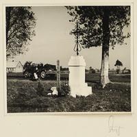 Grab für gefallene Wehrmachtssoldaten bei Szczerców