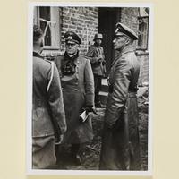Generalleutnant Paul Otto und der General der Panzertruppen Traugott Herr