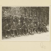 Polnische Kriegsgefangene und Wehrmachtssoldaten