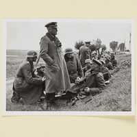 Generalleutnant Otto bei Kock