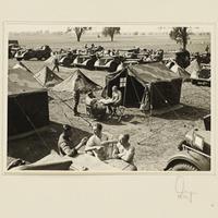 Feldlager der Beobachtungs-Abteilung 13