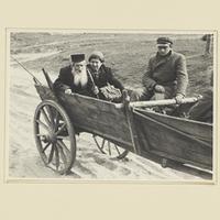 Die polnisch-jüdische Bevölkerung auf der Flucht